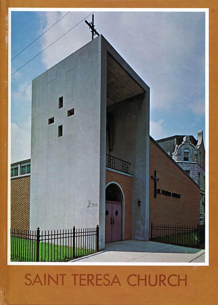 1969 80th Anniversary book for St Teresa Parish Chicago