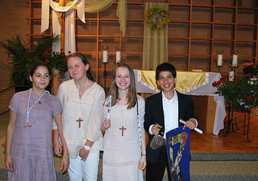 St Teresa Parish Chicago French community