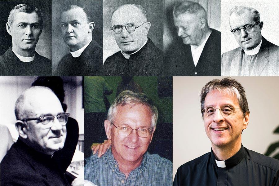 pastors at St Teresa Parish Chicago