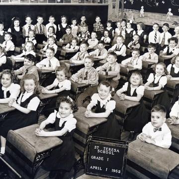 parishioners-Teterycz-school_1952-1st-Grade