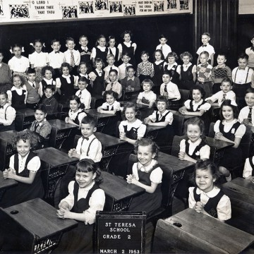 parishioners-Teterycz-school_1953-2nd-Grade