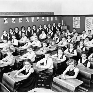 parishioners-Teterycz-school_1955-Grade-4