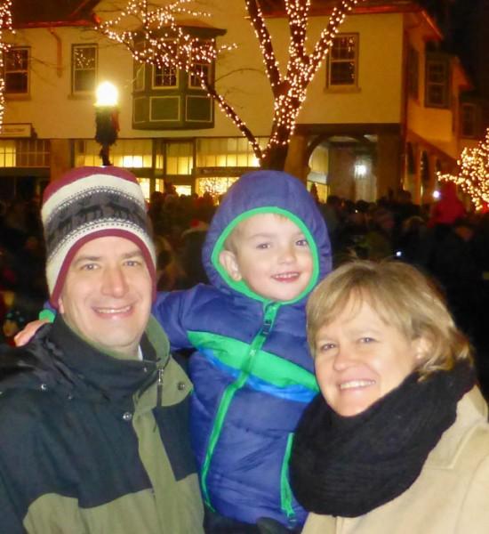 Pete, Ryan, and Jane Ott